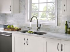 kitchen ideas with slate appliances - Google Search