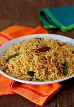 Puli Sevai ~ Tamarind flavored Idiyappam