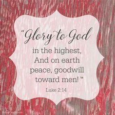 Peace on Earth, Goodwill to All of Us