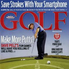 Dave Pelz on the cover of Golf Magazine for #PuttingGames! Pick up your copy now!