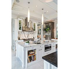 Marble of The World Custom Crates, Grey Highlights, Calacatta Marble, Engineered Stone, Kitchen Trends, Wall Cladding, Stone Tiles, Beautiful Kitchens, Kitchen Countertops