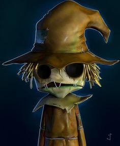 Scarecrow by Sebastian | Cartoon | 3D | CGSociety