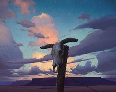 "Jeremy Lipking,  Ghost Herd, oil on linen,  24x30"""