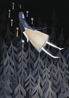 illustration by Alexandra Dvornikova