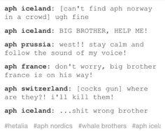 Hetalia - Iceland xD BAHAHAAHAHAHAHAHAHAAHAHAHAAHAHA :'D