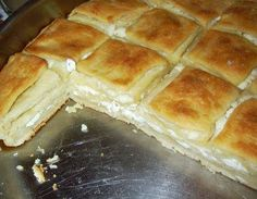macedonian pie, pie with cheese, old macedonian recipes, grandma's pie Albanian Recipes, Bulgarian Recipes, Mary Berry, Appetizer Recipes, Dessert Recipes, Desserts, Burek Recipe, Macedonian Food, Wheat Bread Recipe
