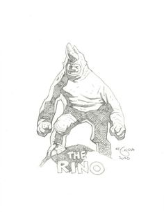 Marvel Rhino Mike Mignola Eve Online, Comic Book Artists, Comic Artist, Character Concept, Concept Art, 3d Character, Drones, Mike Mignola Art, Dark Comics