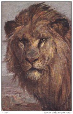1900-1910's; Lion