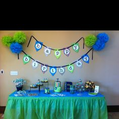 Cute birthday party colors for my future children.