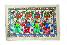 Janakpur painting. #DallasMarket #folkartfan