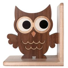 Woodland Owl Bookend