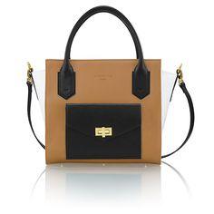 """Daniella"" Sandy-brown Bag with pocket"