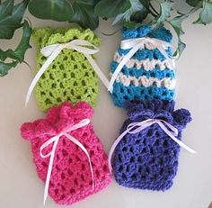 Sweet Soap or Sachet Bags by Kathy North