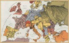 Walter Trier (1890-1951) Europa,1914