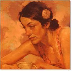 Across the Café - Joseph Lorusso (b. 1966)