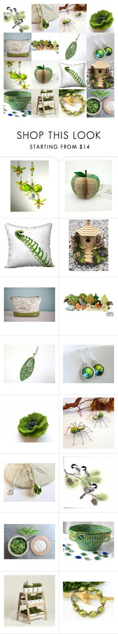 """""""Spring Greens"""" by andreadawn1 ❤ liked on Polyvore featuring interior, interiors, interior design, home, home decor and interior decorating"""