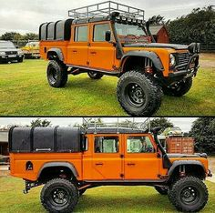 LR Defender 130HCPU extreme lift
