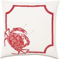 Summer Fun - Crab Walk Indoor / Outdoor Pillow