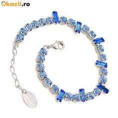 Bratara 2031 Saphire Pandora Charms, Swarovski, Charmed, Bracelets, Jewelry, Charm Bracelets, Bijoux, Bracelet, Jewlery