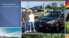 Dear Frank And Becky Limauro !   A heartfelt thank you for the purchase of your new Subaru from all of us at Premier Subaru.   We're proud to have you as part of the Subaru Family.