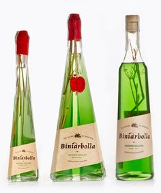Licors Biniarbolla on Packaging of the World - Creative Package Design Gallery
