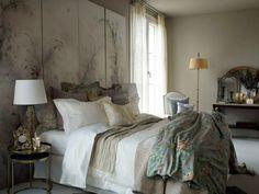 chambre cocooning et déco vintage