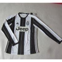 2016-2017 Juventus Home Football Shirt Long Sleeves Thai