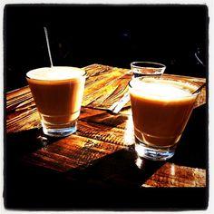 Koffie in de zon