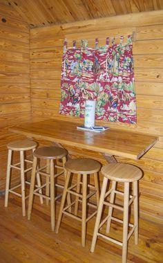 Barebones Cabin Interior