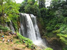 Cataratas de Pulapanzak, Honduras.
