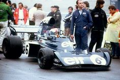 Francois Cevert & Jo Ramirez   006 Tyrrell Mosport 1973