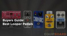 Our team of experts have selected the best guitar looper pedals out of dozens of models. Don't buy a looper pedal before reading these reviews.