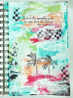 Summertime (Art Journal Page)