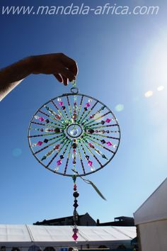 USD - for commissions there is an extra charge on a mandala depending on each si. - USD – for commissions there is an extra charge on a mandala depending on each size and stones use - Beaded Crafts, Wire Crafts, Easy Crafts, Carillons Diy, Sun Catchers, Dream Catchers, Diy Wind Chimes, Beads And Wire, Bead Art