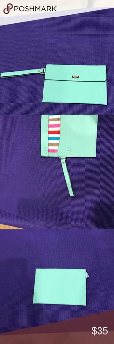 Kate Spade iPad Mini cover Gorgeous color reminds me of Tiffany's color. Excellent condition kate spade Accessories Tablet Cases