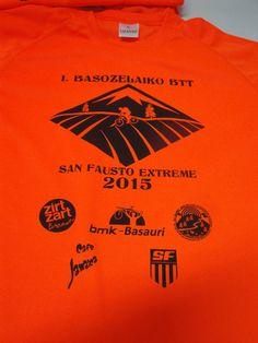 #CamisetasTécnicasPersonalizadas para carreras populares. tejido 100% poliéster personalizadas en Serigrafía.
