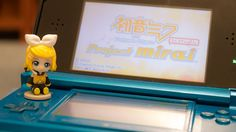 Project Mirai 3DS game with Rin Kagamine ^^
