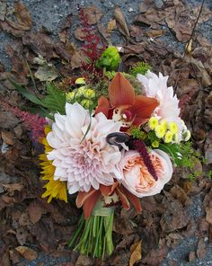 Pretty Fall Bouquet.