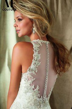 24 unique racerback wedding dresses that make our hearts race ...