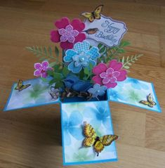 Birthday card in a box by Dolly Watt - Cards and Paper Crafts at Splitcoaststampers