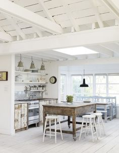 White wood/beach villa