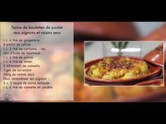 Choumicha official Blog: Tajine de boulettes de poulet à la sauce tomate - Tajine aux oignons et ...