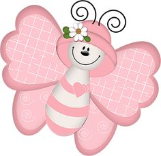 Sweet Valentine Wishes Cartoon Butterfly, Butterfly Clip Art, Butterfly Images, Butterfly Drawing, Valentine Wishes, Pet Rocks, Cute Elephant, Country Crafts, Baby Scrapbook
