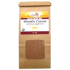 $29.99 Organic Chocolate Hoodia Drink - This nutritious herbal formula helps to accelerate metabolism and burn fat safely and effectively, and comes in a convenient, ready-to-mix powder. The delicious blend of cocoa and herbs is specifically formulated to aid in weight loss, help suppress appetite, maintain carbohydrate and protein consumption and increase energy levels!