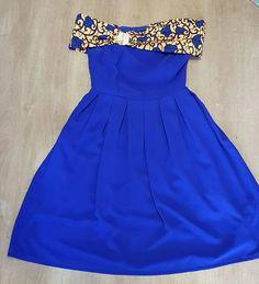 Aminata de Cambray blue royal