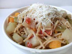 Minestrone di verdure e zucchina spinosa | Ricetta