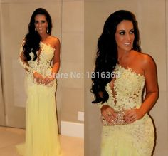 Find More Evening Dresses Information about High quality new arrival elegant one shoulder backless long mermaid evening dress sexy lace flowing chiffon floor length gowns,High Quality dress patty,China gown set Suppliers, Cheap gown dresses for sale from Suzhou Yast Wedding Dress Store on Aliexpress.com