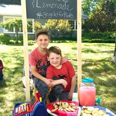 Summer Lemonade Stand and Bake Sale for a CURE