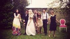 Wedding in Wonderland | Robe déesse NAF NAF