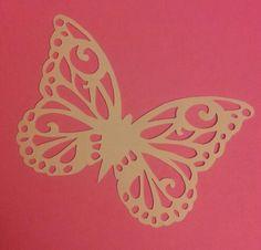 Papercut butterfly x